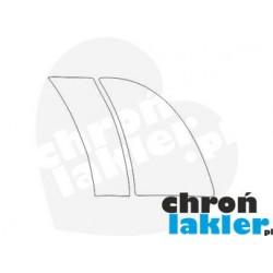 Mercedes GL - class X164 naklejka / folia ochronna na drzwi/błotnik/nadkole tył (2006-2012)