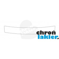 Seat Toledo IV 4 naklejka / folia ochronne zderzak tył (2012-)
