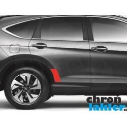 Honda CR-V naklejka / folia ochronna drzwi tył