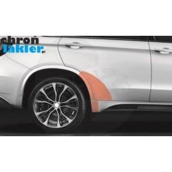 BMW X5 M (M Sport) F15 błotnik, drzwi próg tył folie ochronne (2013-)