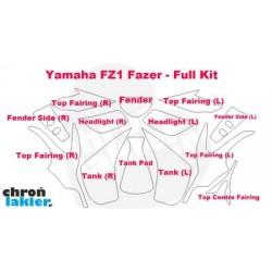 Yamaha FZ1 Fazer - folie / naklejki ochronne - zestaw