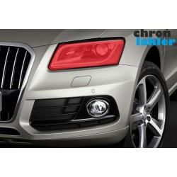 Audi Q5 naklejki / folie ochronne na reflektory / światła przednie