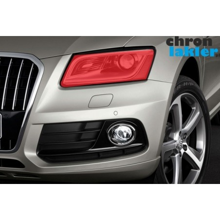Audi Q5 naklejki / folie ochronne na reflektory / lampy / światła przednie