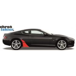 Aston Martin DB9 naklejki / folie ochronne błotnik tył