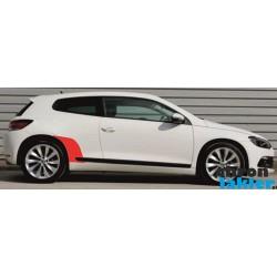 VW Scirocco naklejki / folie ochronne błotnik tył