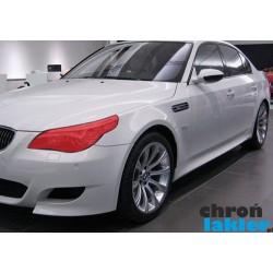 BMW 5 M5 E60 reflektory / światła przednie naklejki / folie ochronne