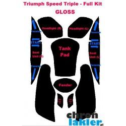 Triumph Speed Triple - naklejki  / folie ochronne - zestaw