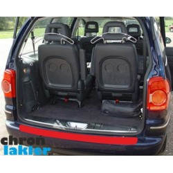 VW Sharan I (mk1) i I FL / Seat Alhambra / Ford Galaxy zderzak tył naklejka / folia ochronna