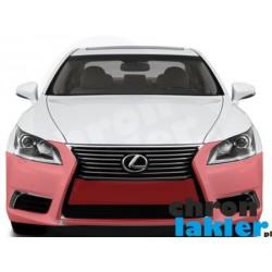 Lexus LS 460, 600h, LS 460 F Sport zderzak przód folia ochronna 3M VentureShield (clear bra)