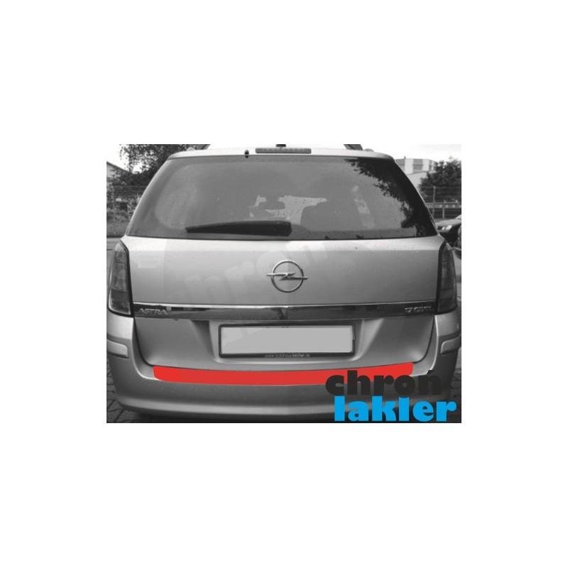Opel Astra H III 3 kombi zderzak tył folia ochronna