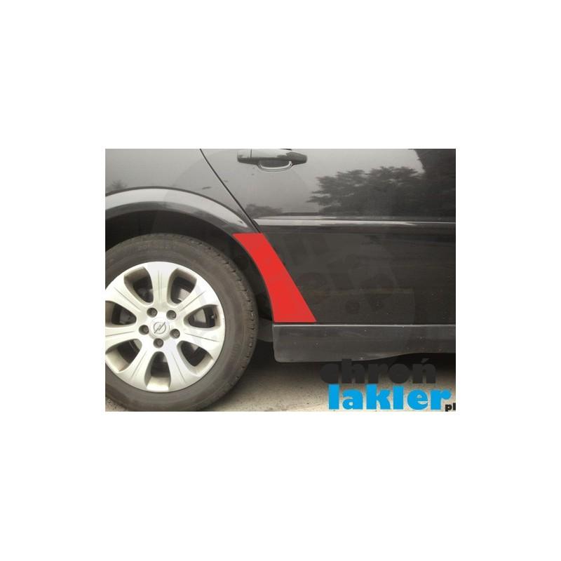 Opel Vectra C / Sigum błotnik / nadkole naklejka / folia ochronna