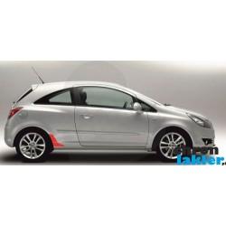 Opel Corsa D 3D naklejka / folia ochronna błotnik