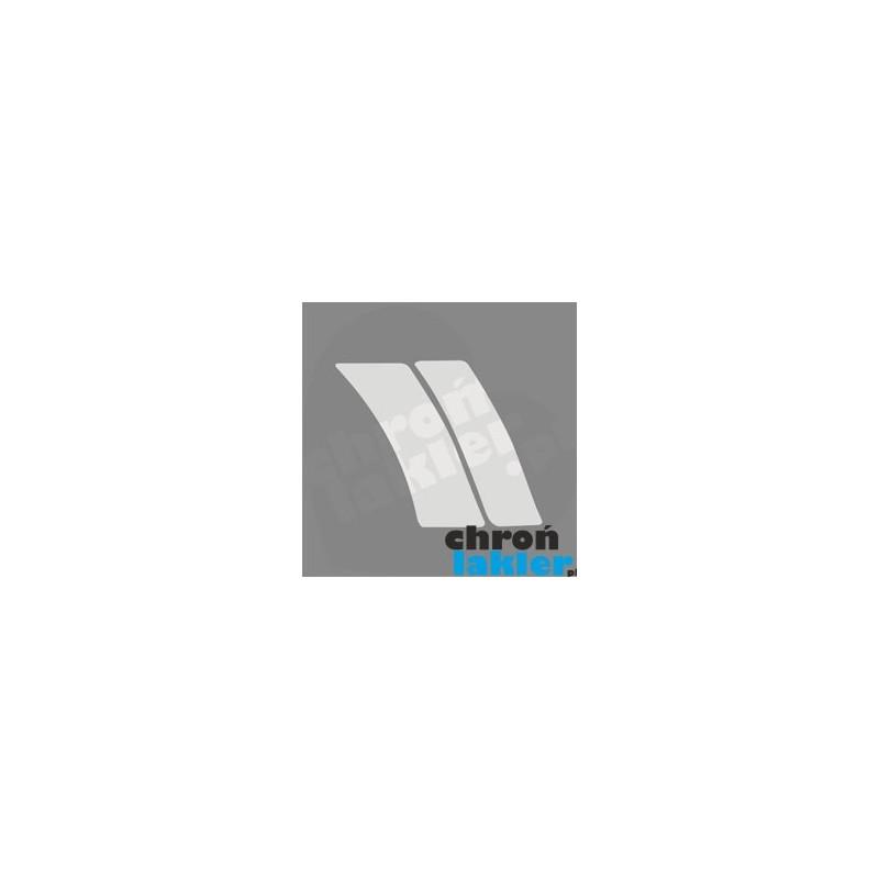 Mercedes C klasa w203 naklejka / folia ochronna błotnik i drzwi tył