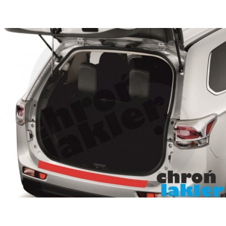 Mitsubishi Outlander III 3 zderzak folia ochronna