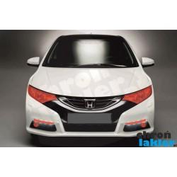 Honda Civic IX 9 folia ochronna reflektory, światła do jazdy dziennej, halogeny przód 3M VentureShield (clear bra)