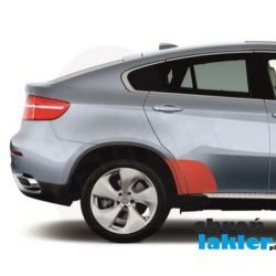 BMW X6 E71/E72 błotnik i drzwi naklejka / folia ochronna