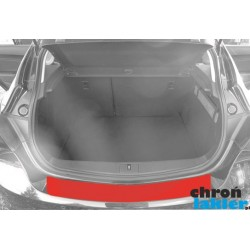 Opel Astra J 4 IV hatchback zderzak tył folia ochronna (2009-)