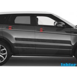 folia ochronna pod klamki drzwi Range Rover Evoque