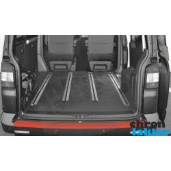 VW T5 / Multivan / Caravelle / Transporter zderzak (próg załadunkowy) tył folia ochronna