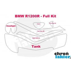 BMW R1200R - naklejki  / folie ochronne - zestaw (2006-)