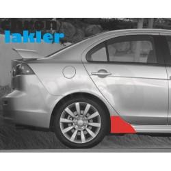 MITSUBISHI LANCER X (10) Intense folia ochronna na próg, nakładkę progową Sportback Sedan