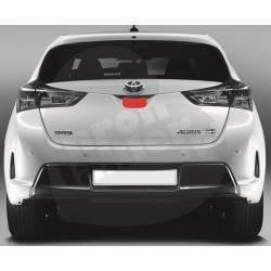 Toyota Auris II hatchback folia ochronna pod klamkę tylnej klapy (2012-)