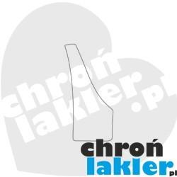 Subaru Impreza GH III (3) folie ochronne na błotnik / nadkole / próg tył (2007-2011)