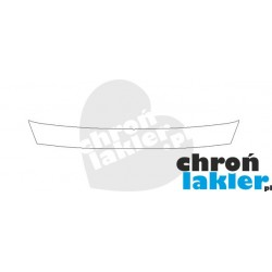 AUDI A3 / S3 III 8V 4D SEDAN zderzak tył naklejka / folia ochronna