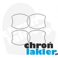 Chevrolet Spark folie ochronne pod klamki