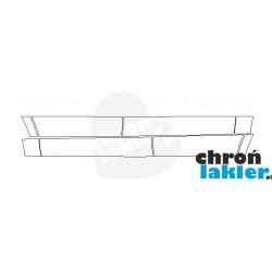 Mercedes GLS-Klasa folie ochronne / folia ochronna na drzwi