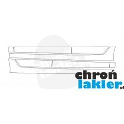 Audi A3 8V Sportback folie ochronne / folia ochronna na progi i drzwi (2013-)