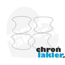 Chevrolet Trax I mk1 1 dedykowane naklejki / folie ochronne pod klamki (2013-2016)