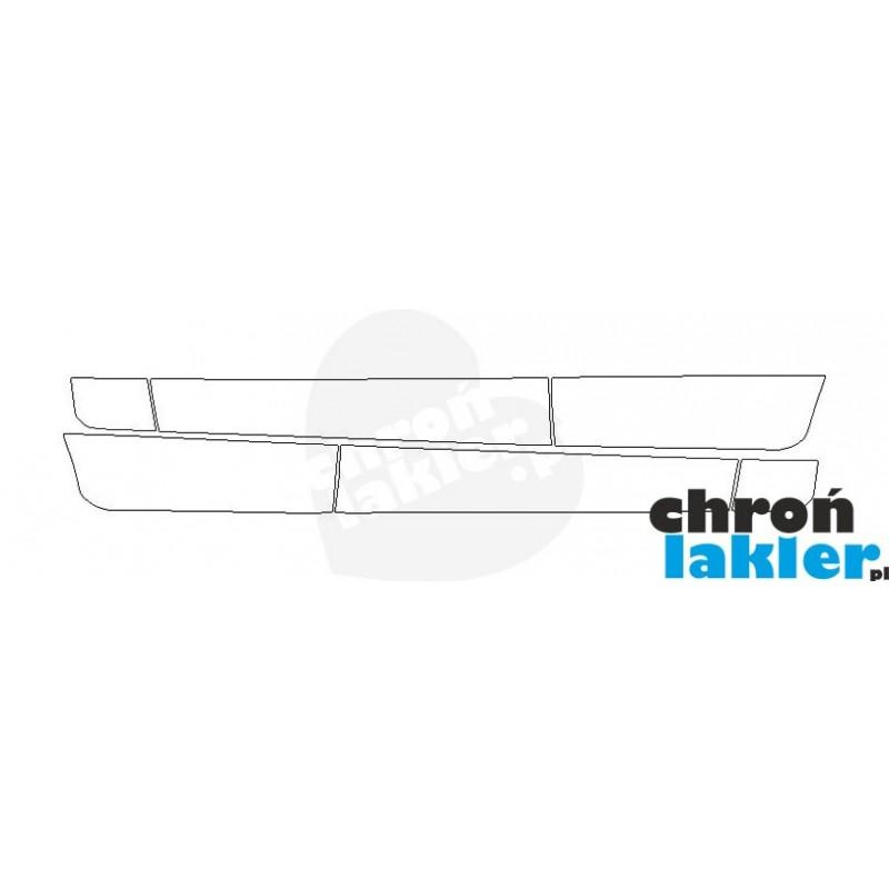 Mercedes GLC folie ochronne / folia ochronna na drzwi