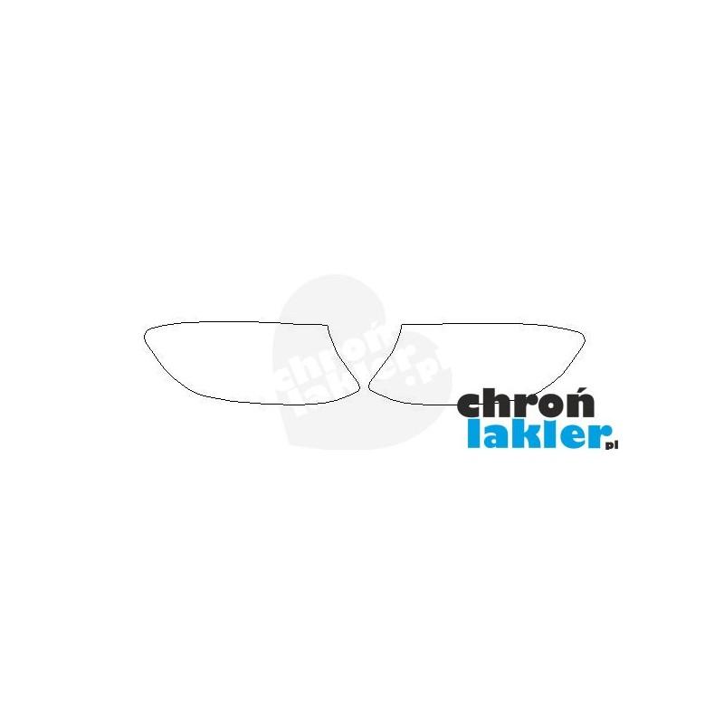 Mercedes GLC-Klasa reflektory / światła przednie naklejki / folie ochronne