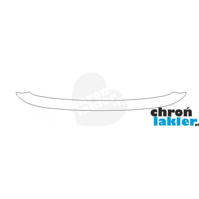 Lancia Ypsilon zderzak tył naklejka / folia ochronna (2003-2006)