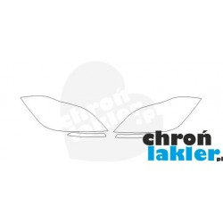 Mercedes-benz CLS C218 reflektory / światła przednie / dzienne / naklejki / folie ochronne (2011-)