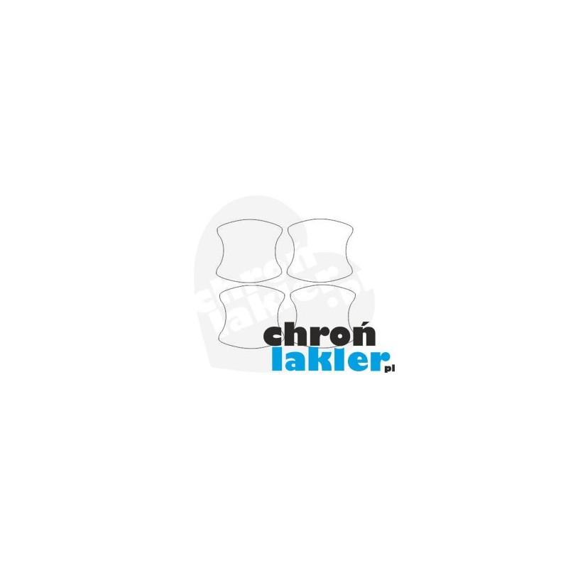 Citroen SpaceTourer dedykowane naklejki / folie ochronne pod klamki (2016-)