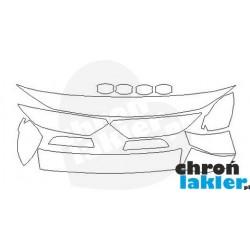 VW Passat B8 SEDAN folia ochronna ZESTAW maska, błotnik tył, lusterka boczne, słupki A, zderzak tył, pod klamki (2015-)