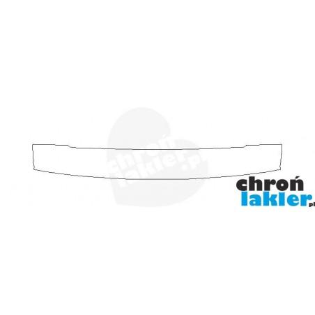 Citroen C5 II Tourer (kombi) zderzak tył folia ochronna (2008-2017)