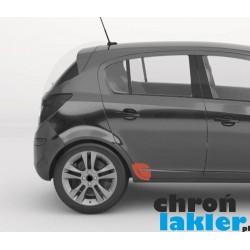 Opel Corsa D 5D naklejka / folia ochronna błotnik drzwi (2006-2014)