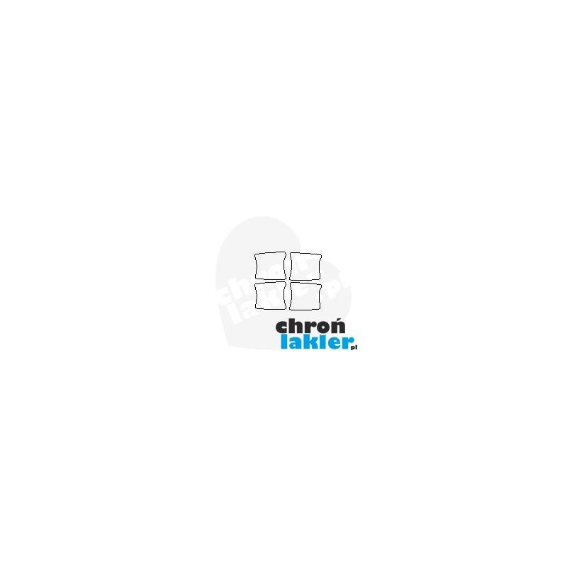 ford edge ii facelift naklejki folie ochronne pod klamki 2018 folia ochronna ppf na. Black Bedroom Furniture Sets. Home Design Ideas