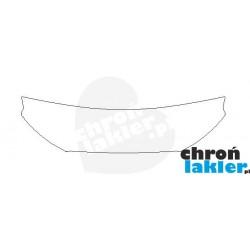 Ford Ranger III Facelifting folia ochronna na maskę (Clear BRA) (2015-)
