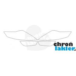 Ford Mondeo MK4 reflektory / światła przednie / naklejki / folie ochronne (2007-2014)