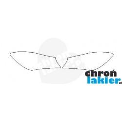 MERCEDES CLA C117 reflektory / światła przednie naklejki / folie ochronne (2013-2019)