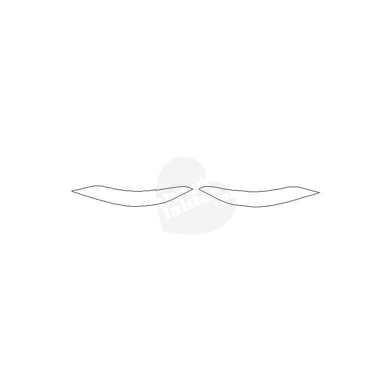Mercedes GT AMG 4D lampy / światła tylne naklejki / folie ochronne