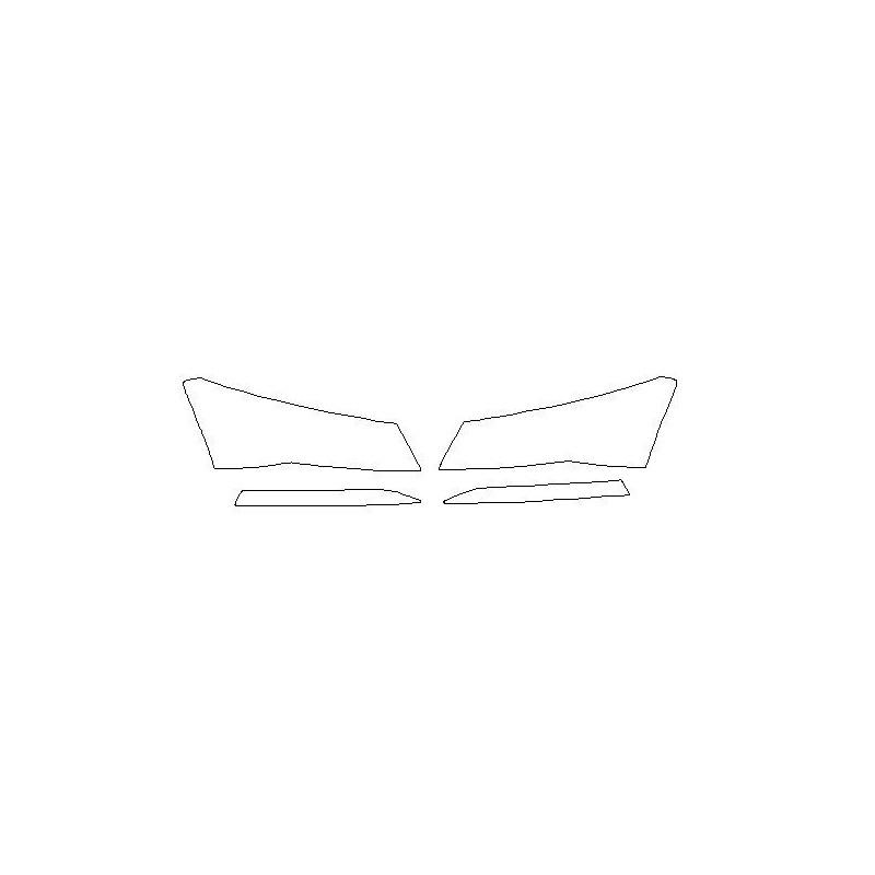 Skoda Superb III mk3 po FL reflektory / światła przednie / halogeny / naklejki / folie ochronne (2019-)