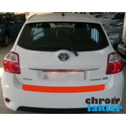 Toyota Auris I folia / naklejka ochronna zderzak tył