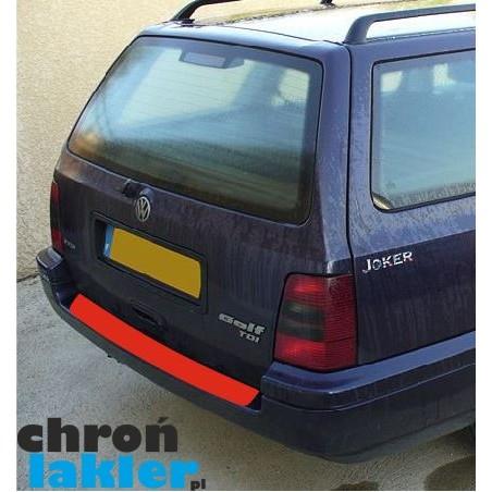 VW Golf III 3 zderzak tył kombi folia ochronna (1991-1999)