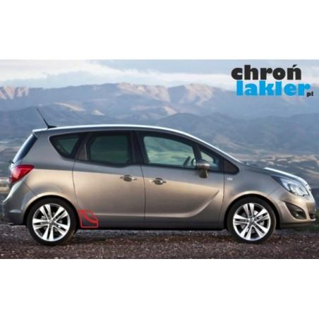 Opel Meriva B II naklejka / folia ochronna błotnik drzwi
