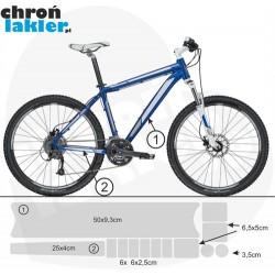 naklejka / folia ochronna na rower 3M zestaw small